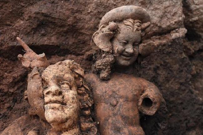 Doğu Karadeniz'de arkeolojik keşif: 2100 yıllık heykeller bulundu
